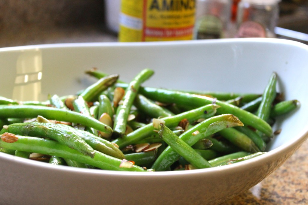 These green beans are bringing sexy back! Click here for the best green bean recipe ever! https://chasingmcallisters.com/the-best-green-bean-recipe-ever