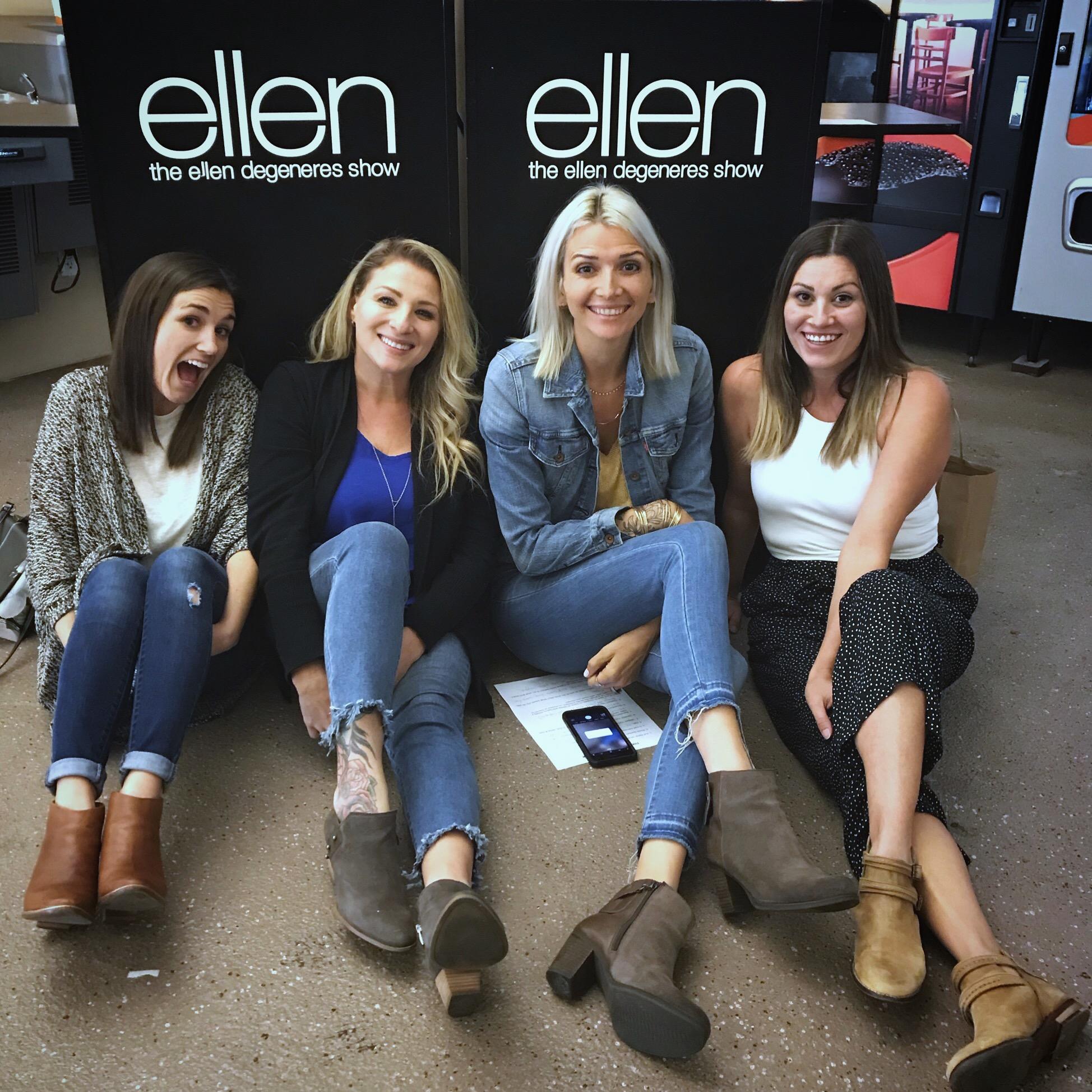 How to get on 'The Ellen Show' https://chasingmcallisters.com/ellen-part-2