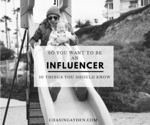 How to be an Instagram Influencer / Blogger (10 TIPS): https://chasingmcallisters.com/INFLUENCER