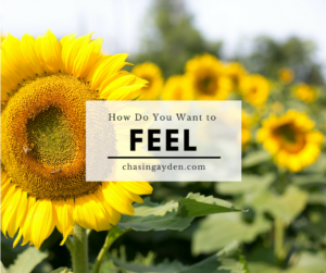 How Do You Want to Feel: The power of the Law of Attraction httpz;//chasingmcallisters.com/feel-good